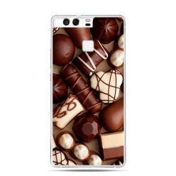 Etui na telefon Huawei P9 czekoladki
