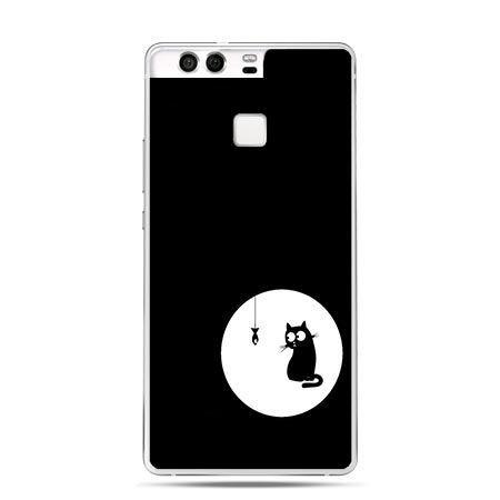 Etui na telefon Huawei P9 kotek