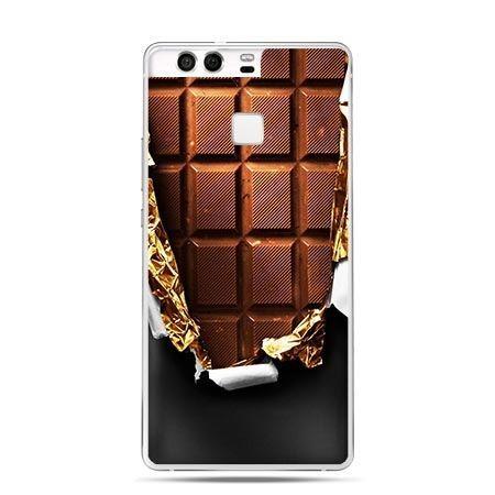 Etui na telefon Huawei P9 czekolada