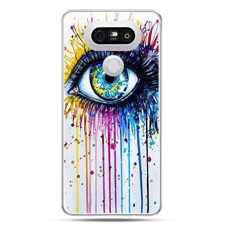 Etui na telefon LG G5 kolorowe oko