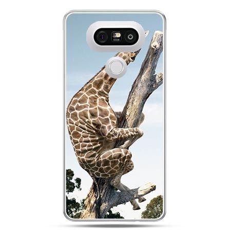 Etui na telefon LG G5 śmieszna żyrafa