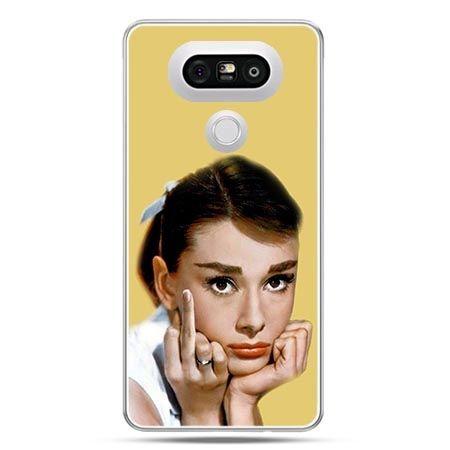Etui na telefon LG G5 Audrey Hepburn Fuck You