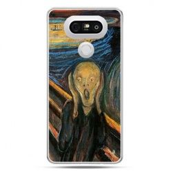 Etui na telefon LG G5 Krzyk Munka