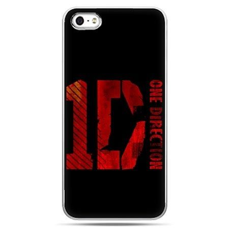 Etui na telefon One Direction czarne.