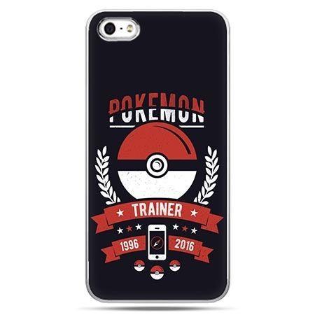 Etui na telefon w stylu pokemon trener.