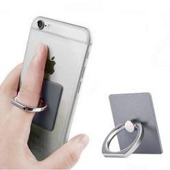 Uniwersalny uchwyt do telefonu ORing na palec - grafitowy.