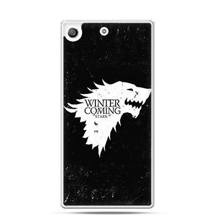 Etui na telefon Xperia M5 Winter is coming