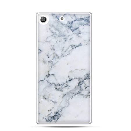 Etui na telefon Xperia M5 biały marmur