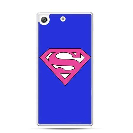 Etui na telefon Xperia M5 Supergirl