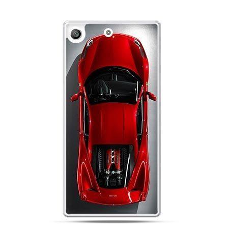 Etui na telefon Xperia M5 czerwone Ferrari