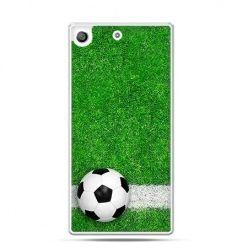 Etui na telefon Xperia M5 piłka murawa