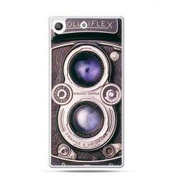 Etui na telefon Xperia M5 aparat Rolleiflex