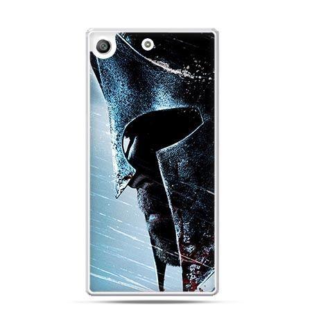 Etui na telefon Xperia M5 hełm Spartan