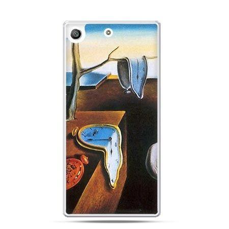 Etui na telefon Xperia M5 zegary S.Dali