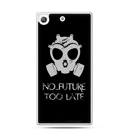 Etui na telefon Xperia M5 No future