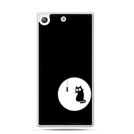 Etui na telefon Xperia M5 kotek
