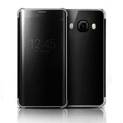 Samsung Galaxy J7 2016r etui Flip Clear View czarne z klapką.