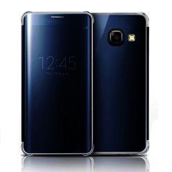 Galaxy A3 2016r etui Flip Clear View granatowe z klapką.