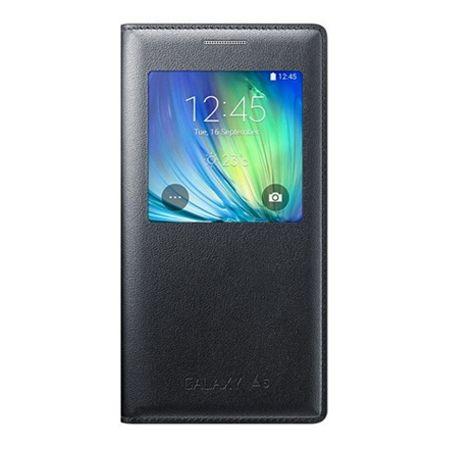 Galaxy A5 2016r - flip S-View z klapką - Czarny