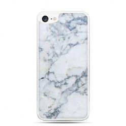 Etui na telefon iPhone 7 - biały marmur