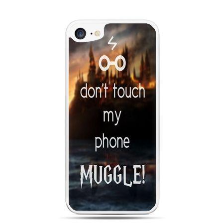 Etui na telefon iPhone 7 - Don`t touch ..Muggle harry Potter