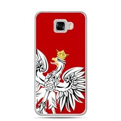 Etui na telefon Samsung Galaxy C7 - Orzeł Biały patriotyczne