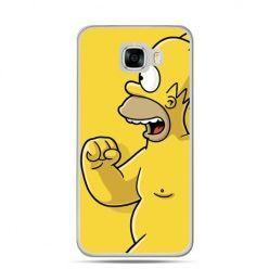 Etui na telefon Samsung Galaxy C7 - Homer Simpson