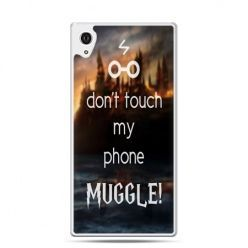 Etui na telefon Sony Xperia XA - Don`t touch ..Muggle harry Potter