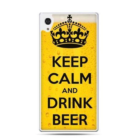 Etui na telefon Sony Xperia XA - Keep calm and drink beer