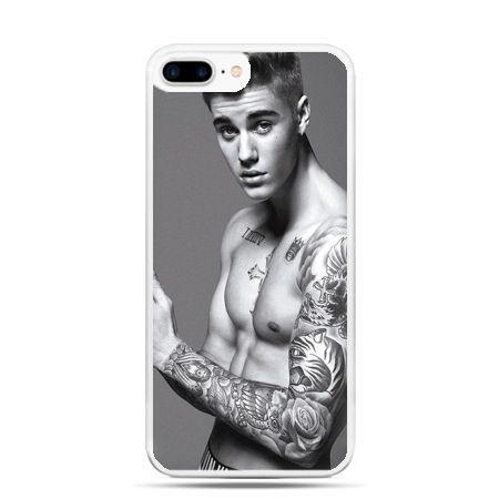 Etui na telefon iPhone 7 Plus - Justin Bieber w tatuażach