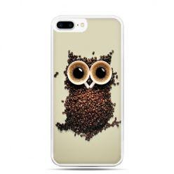 Etui na telefon iPhone 7 Plus - Kawa sowa