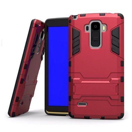 Pancerne etui na LG G4 Stylus - czerwony.