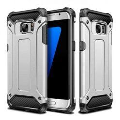 Pancerne etui na Galaxy S7 Edge - srebrny.