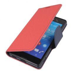 Etui na Xperia M5  Fancy Wallet - czerwony. PROMOCJA!!!