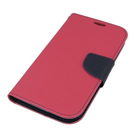 Etui na Huawei Y600 Fancy Wallet - różowy. PROMOCJA!!!