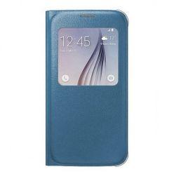 Galaxy Note 7 Flip S View z klapką niebieskie.