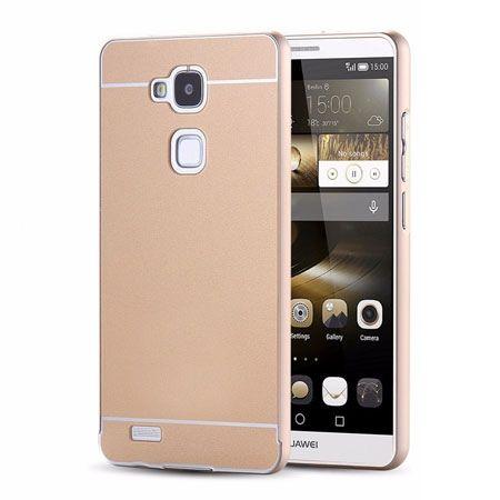 Huawei Mate 7 etui aluminium bumper case - Złoty