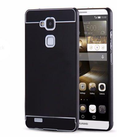 Huawei Mate 7 etui aluminium bumper case - Czarny