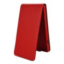 Etui na telefon iPhone 6 / 6s - kabura z klapką - czerwony