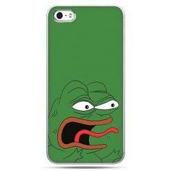 Etui na telefon zielona żaba Pepe.