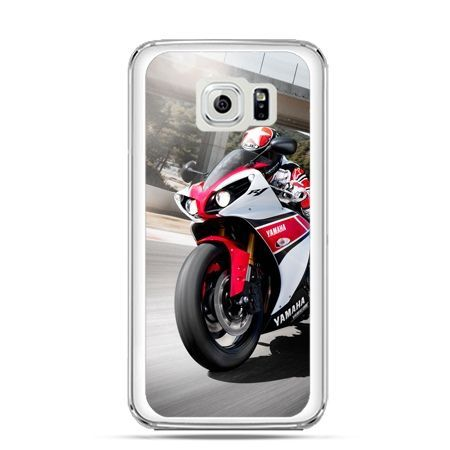 Etui na Galaxy S6 Edge Plus - motocykl ścigacz