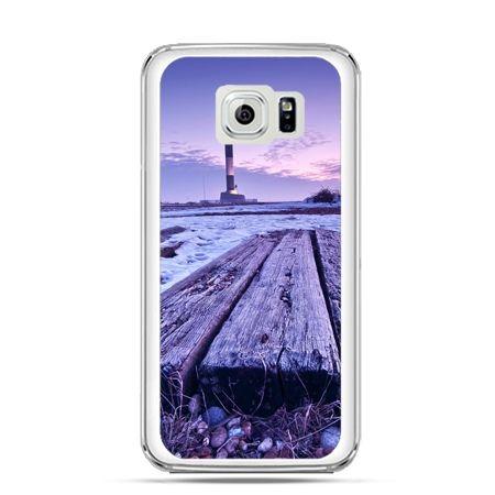Etui na Galaxy S6 Edge Plus - latarnia morska zmierzch