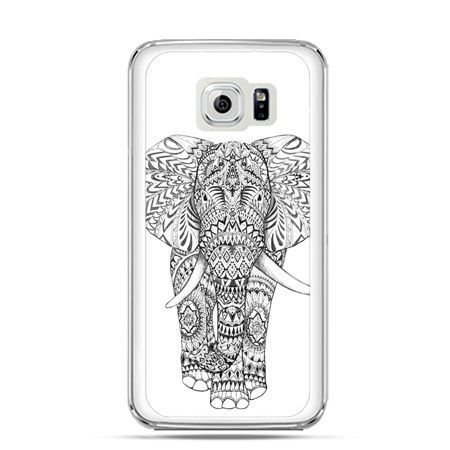 Etui na Galaxy S6 Edge Plus - Indyjski słoń