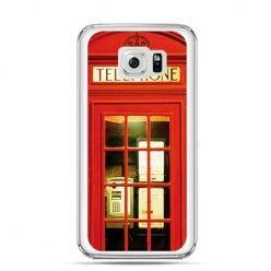 Etui na Galaxy S6 Edge Plus - czerwona budka telefoniczna