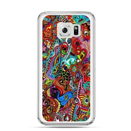 Etui na Galaxy S6 Edge Plus - kolorowy chaos