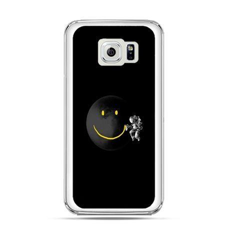 Etui na Galaxy S6 Edge Plus - uśmiechnięta planeta