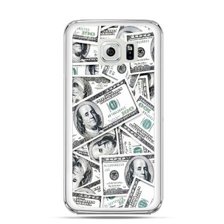 Etui na Galaxy S6 Edge Plus - dolary banknoty