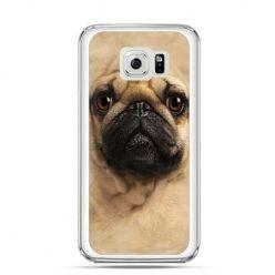 Etui na Galaxy S6 Edge Plus - pies szczeniak Face 3d