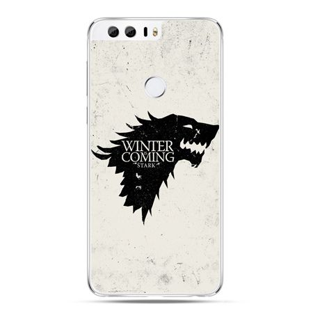 Etui na Huawei Honor 8 - Gra o Tron Winter is coming czarna