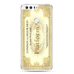 Etui na Huawei Honor 8 - bilet platform 9 3/4 Harry Potter